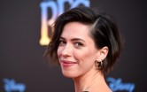 Rebecca Hall flaunts her ample cleavage in plunging A line frock  at Tribeca Film Festival [PHOTO]