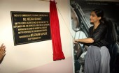 Sonam Kapoor, who is busy promoting her upcoming film Neerja inaugurated a special plaque dedicated to the memory of Neerja Bhanot at the latter's college, St. Xavier's College in Mumbai. Neerja Bhanot was a sincere and a proud student of Xavier's Institute of Engineering.