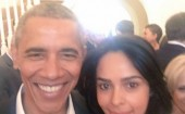 "Actress Mallika Sherawat, currently in the US, says she has had the ""good fortune"" to meet President Barack Obama again. The 39-year-old actress tweeted a selfie of herself with Obama, and they are all smiles for the camera. ""Had the good fortune of meeting the one and only, the charismatic President Obama again,"" Mallika tweeted on Wednesday, calling it a ""proud moment"". Mallika, however, did not reveal where and when she met Obama this time. She had earlier met him in 2011 a tea party in Los Angeles. The actress is known for her bold performances in films such as ""Khwahish"" and ""Murder"", and was last seen on screen in the 2015 film ""Dirty Politics""."