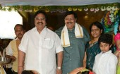 Director Vasu Daughter Deepthi Marriage event held in Hyderabad. Dr. Dasari Narayanarao,  Nadamuri Rama Krishna, Jayasudha, C. Kalyan, Sivajiraja, Naresh, Madhala Ravi, Kota Srinivasa Rao, Nitin Kapoor, K. Mahendra, K. Murali Mohan Rao, Gemini Kiran,  V.Sagar, Ram Prasad, Anitha Chowdary, K.S. Ramarao, K.C Sekhar Babu, Relangi Narasimharao, Prasanna Kumar, G. Sattiraju, Tripuraneni Vara Prasad, Nandhamuri Hari Krishna, Maharshi Raghava, Ram Jagan, Chalapati Rao, Ashok Kumar, Kasi, ML Kumar Chowdary, M. Syam Prasad Reddy, Satya Chitra Satyanarayana, B. Gopal, PN Ramachandrarao, Thammareddy Bharadwaja, Sai Venkat and Mohan Krishna graced the event.