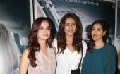 Sonam Kapoor upcoming movie 'Neerja' Special screening held at Light Box. Celebs like Dia Mirza, Huma Qureshi, Sophie Choudry, Shabana Azmi, Adhuna Akhtar, Atul Kasbekar, Rahul Dev, Mugdha Godse, Sahil Sangha, Sharib Hashmi, Prahlad Kakkar, Mitali Dutt Kakar, Baba Azmi, Tanvi Azmi, Prasoon Joshi, Javed Akhtar, Shekhar Ravjiani and others graced the event.