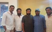 "On Saturday morning, the entire team of Vijay 60 met actor Vijay. ""Cameraman Sukumar, music director Santhosh Narayanan Editor K L Praveen were present in the meeting. Actress Keerthy Suresh signed to play female lead in the movie."