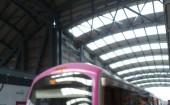 Metro rail service in Bangalore.