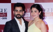 Virat-Anushka's First Red Carpet Appearance at Vogue Beauty Awards 2015
