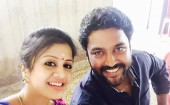 Anjana with Chandran