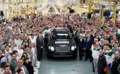 Bentley Bentayga at Crewe factory