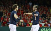 Andy Murray Jamie Murray Great Britain Davis Cup final
