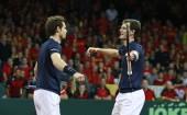 Andy Murray Jamie Murray Great Britain Davis Cup final