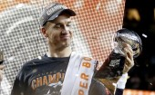 Peyton Manning Denver Broncos Super Bowl 50 Vince Lombardi Trophy