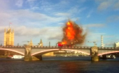 Watch the bus explosion that scared the hell out of London