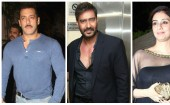Salman Khan, Ajay Devgn and Tabu