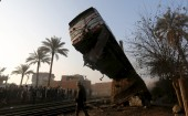Egypt: Train crashes into concrete leaving more than 100 injured