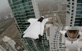 Panama: Incredible GoPro video shows wingsuit diver Roberta Mancino fly between two buildings