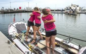 Four British women arrive in Australia after 235-day row across the Pacific Ocean