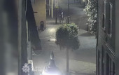 CCTV shows Corrie McKeague in the early hours of the morning he went missing