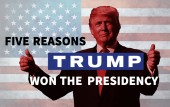 Five reasons Donald Trump won the US presidency