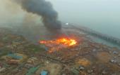 Massive fire destroys dozens of homes in Lagos
