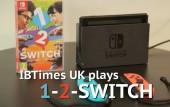 IBTimes UK plays 1-2-Switch on Nintendo Switch