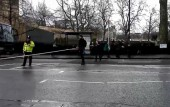 People seen running out of UK Parliament after knife attack and car incident in Westminster