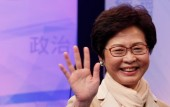Carrie Lam is Hong Kongs first female chief executive