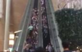Hong Kong escalator reverses without warning, sending shoppers tumbling