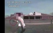 Dashcam footage shows police car intentionally running over and killing suspect