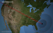 Where will the total solar eclipse be visible?