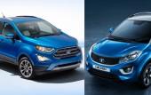 2017 Ford EcoSport facelift, Tata Nexon