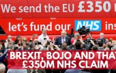 Brexit, Boris Johnson, and that £350m NHS claim