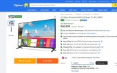 Flipkart Big Billion Days, 2017, TV Sale, offers, Samsung, LG, Panasonic, Micromax, Vu, CloudWalker