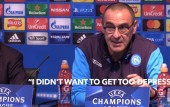 Napoli boss says watching Manchester City is depressing