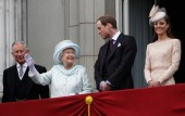Queen Elizabeth Prince William Kate Middleton