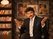 Megastar Chiranjeevi to host Maa TV's Meelo Evaru Koteeswarudu (MEK). Check out Actor Chiranjeevi new Photoshoot Images.