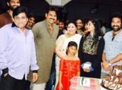 Photos of Power Star Pawan Kalyan celebrates Siva Balaji's birthday on the sets of Katama Rayudu.