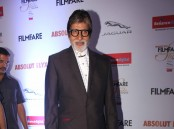 Photos of Amitabh Bachchan at Filmfare Glamour & Style Awards 2016.