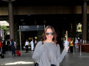 Sonakshi Sinha spotted at Mumbai Airport.