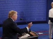 US Elections 2016: Hillary Clinton and Donald Trump's Final Debate.