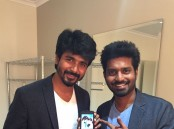 Check out the photos of Remo Actor Sivakarthikeyan launches Ma Ka Pa Anand's Kadalai Movie Trailer.