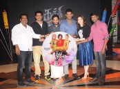 Tamil movie Kaththi Sandai Audio Launch event held at Suriyan FM, Chennai. Celebs like Vishal, Tamannaah, Director Suraj, Music Director Hiphop Tamizha Aadhi, Comedy actor Soori, Producer S. Nanthagopal and others graced the event.