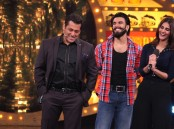 Photos of Ranveer Singh and Vaani Kapoor promote Befikre on Salman Khan's Bigg Boss 10 show