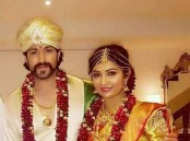 Yash and Radhika Pandit's wedding pictures.