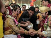 Actor Yash and Radhika Pandit Marriage held at Plalace ground, Bangalore on 9th December. The couple tied the knot as per the Hindu customs. Celebs like Puneeth Rajkumar, Ravichandran, Sriimurali, Bharathi Vishnuvardhan, Shivarajkumar, Sudeep, Raghavendra Rajkumar, and others spotted at the wedding.