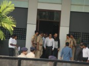Arms Act case: Bollywood actor Salman Khan reaches Jodhpur CJM Court.