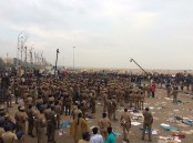 Nearly a week after watching on the sidelines the Jallikattu protest on the Marina Beach and in other places in the state, the Tamil Nadu Police on Monday morning started evicting the protesters. Jallikattu is a popular bull-taming sport of Tamil Nadu. The police action came on the day when the state assembly was set to meet here.