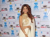 Shilpa Shetty spotted during the Umang Mumbai Police Show 2017 in Mumbai, India on January 22,2017.