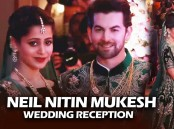 Bollywood celebs like Salman Khan, Amitabh Bachchan, Katrina Kaif, Rekha and others spotted at Neil Nitin Mukesh and Rukmini Sahay reception.