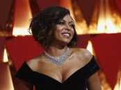 Taraji P. Henson poses on the red carpet.