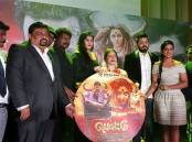 Tamil movie Pottu audio launch event held at Malaysia. Celebs like Bharath, Namitha, Iniya, Vadivudaiyan, Nikesh Ram, Jones, John Max, Jayachitra, Amresh Ganesh and others graced the event.