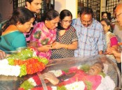 The last rites of Indian techie Srinivas Kuchibhotla, who was shot dead in the US last week in a suspected hate crime, would be performed Tuesday at Jubliee Hills, family members said. The mortal remains of the slain 32-year-old was flown in here Monday night. It was brought by a cargo flight, which arrived at Rajiv Gandhi International Airport around 10 p.m.