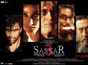 "Megastar Amitabh Bachchan and veteran actor Jackie Shroff look fierce and intense in the poster of filmmaker Ram Gopal Varma's upcoming film ""Sarkar 3""."